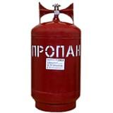 Баллон газовый 27 литров(стальной, с баллонным вентилем, Крым)