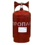 Баллон газовый 12 литров (стальной с баллонным вентилем, Крым)