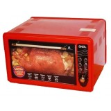 Мини-печь AKEL AF-710 красная