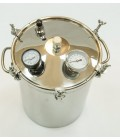 Автоклав-стерилизатор Консерватор Аромат ( 14 литров, 2 в 1 автоклав и самогонный аппарат, аромат)