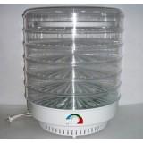 Сушилка для овощей Мастерица ЭСОФ-2-0,6/220 (6 прозрачных поддонов)
