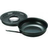 Сковорода гриль-газ D-503A (черная, керамическое покрытие)