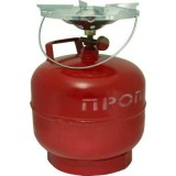 Комплект газовый Кемпинг ПГТ 1Б-В, 5 литров (газов.горелка + газовый баллон, Крым)