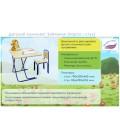 Детский комплект Великие реки Зайченок (парта цветная +стул) рис. 3